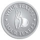 Ace Recognition Pewter Coin, Lapel, Plaque - with your text and logo - bowling, bowling pins, bowling balls, bowling-ball, games,  kingpin, lane, leisure, pins, sport