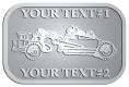 Ace Recognition Pewter Crest, Lapel, Plaque - with your text and logo - road grader, mining equipment, grader, heavy equipment, earthmovers, earth movers