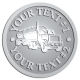 Ace Recognition Pewter Coin, Lapel, Plaque - with your text and logo - tanker trucks, tank trucks, truck tankers, truck tanks, carriers, haulers, transportation