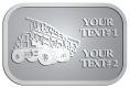 Ace Recognition Pewter Crest, Lapel, Plaque - with your text and logo - dump trucks, standard dump trucks, trucks, construction vehicles, dumper, tip trucks, tipper lorry, tipper trucks, tippers, tipper lorries, transportation