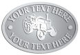 Ace Recognition Pewter Crest, Lapel, Plaque - with your text and logo - tractors, farm equipment, farm machinery, farm machines, field implements, farm implements