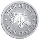 Ace Recognition Pewter Coin, Lapel, Plaque - with your text and logo - tractors, farm equipment, farm machinery, farm machines, field implements, farm implements
