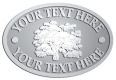 Ace Recognition Pewter Crest, Lapel, Plaque - with your text and logo - forestry, logging, trees, gardening, horticulture, horticultural, landscaping, landscapers, conservation, ecology, environment