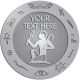 Ace Recognition Pewter Buckle, Coin, Lapel, KeyTag, Medal, Pendant, Plaque - with your text and logo - egyptian, hieroglyphics, creatures, mythology, man with sceptre, friend