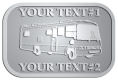 Ace Recognition Pewter Crest, Lapel, Plaque - with your text and logo - RV, RVs, Recreational Vehicles, Motorhomes, motors, motor-homes, motorhomes, recreation, recreational, retire, retirement, tours, trailers, transportation, travel, travelers, trips, trucks, vacations, vans, vehicles, voyages, wheels