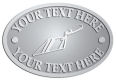 Ace Recognition Pewter Crest, Lapel, Plaque - with your text and logo - trowels, bricklayers, brick layers, plaster trowels, brick trowels, pointing trowels, plasters, masonry
