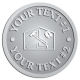 Ace Recognition Pewter Coin, Lapel, Plaque - with your text and logo - home renovations, home remodelling, carpentry, levels, saws, woodworking, tools, trades, carpenters