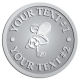 Ace Recognition Pewter Coin, Lapel, Plaque - with your text and logo - .