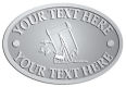 Ace Recognition Pewter Crest, Lapel, Plaque - with your text and logo - painting tools, interior designs, painting, paint rollers, paint brush, paint brushes, paint contractors, painting contractors, painting professionals