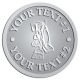 Ace Recognition Pewter Coin, Lapel, Plaque - with your text and logo - janitorial, janitor, cleaning, vacuums, brooms, dust mops, janitorial supplies, janitorial equipment