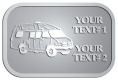 Ace Recognition Pewter Crest, Lapel, Plaque - with your text and logo - RV, RVs, Recreational Vehicles, campers, camping, motors, motor-homes, motorhomes, recreation, recreational, retire, retirement, tours, trailers, transportation, travel, travelers, trips, trucks, vacations, vans, vehicles, voyages, wheels