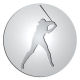 Ace Recognition Pewter Buckle, Coin, KeyTag, Lapel, Medal, Pendant, Plaque - with your text and logo - ball, baseball, player, professional, recreation, sports, world series