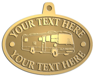Custom Pendant - customized and personalized your way - RV, RVs, Recreational Vehicles, Motorhomes, motors, motor-homes, motorhomes, recreation, recreational, retire, retirement, tours, trailers, transportation, travel, travelers, trips, trucks, vacations, vans, vehicles, voyages, wheels