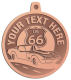 Ace Recognition Copper KeyTag, Medal, Pendant - with your text and logo - Car Designs - classic car - US route 66 - corvette - vintage cars - your text, route 66, route sixty six, route sixty-six, historic highway, historic road, mother road, transportation