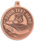 Ace Recognition Copper KeyTag, Medal, Pendant - with your text and logo - Car Designs - classic car - roadster - vintage cars - sports car - your text, transportation, metal