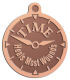 Ace Recognition Copper KeyTag, Medal, Pendant - with your text and logo - recovery, recovery celebration, recovery milestones, motivational