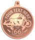 Ace Recognition Copper KeyTag, Medal, Pendant - with your text and logo - Motorcycle Designs - US 66 - route 66 - motorcycle - your text,   chopper, motorcycles, motor bikes, racing, motor, motorsports, motor-sports, transportation, metal