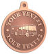 Ace Recognition Copper KeyTag, Medal, Pendant - with your text and logo - RV, RVs, Recreational Vehicles, Motorhomes, motors, motor-homes, motorhomes, recreation, recreational, retire, retirement, tours, trailers, transportation, travel, travelers, trips, trucks, vacations, vans, vehicles, voyages, wheels