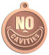 Ace Recognition Copper KeyTag, Medal, Pendant - with your text and logo - denistry, dentist, no cavities, denistry awards