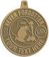 Ace Recognition Gold KeyTag, Medal, Pendant - with your text and logo - Military - Iraq - Fallen Solider Memorial - US Flag and ribbon - Never Forgotten