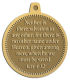Ace Recognition Gold KeyTag, Medal, Pendant - with your text and logo - Christian Designs - Neither is there salvation in any other: for there is none other name under heaven given among men, whereby we must be saved.  Acts 4:12  religious