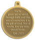 Ace Recognition Gold KeyTag, Medal, Pendant - with your text and logo - Christian Designs - For by grace are ye saved through faith; and that not of yourselves: it is the gift of God: Not of works, lest any man should boast. Ephesians 2:8,9, metal
