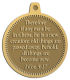 Ace Recognition Gold KeyTag, Medal, Pendant - with your text and logo - Christian Designs - Therefore if any man be in Christ, he is a new creature: old things are passed away; behold, all things are become new.  2 Corinthians 5:17  religious