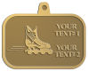 Ace Recognition Gold KeyTag, Medal, Pendant - with your text and logo - rollerblades, inline skating, action, active, athletic, blade, boot, enjoy, exercise, extreme, fit, fitness, fun, hockey, inline, leisure, outside, play, recreating, recreation, ride, roll, roller, rollerblade, rollerblading, skate, skating, sport, wheel