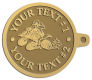 Ace Recognition Gold KeyTag - with your text and logo - all terrain vehicles, atv, atvs, off road, off-road, 4-wheeler, atv, bike,drive, fast, four, machine, motocross, off-road, power, powerful, quad, race, red, ride, road, sky, sport, tires, tool, traction, trail, transport, transportation, wheel