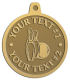 Ace Recognition Gold KeyTag, Medal, Pendant - with your text and logo - bowling, bowling pins, bowling balls, bowling-ball, games,  kingpin, lane, leisure, pins, sport