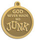 Ace Recognition Gold KeyTag, Medal, Pendant - with your text and logo - motivational, inspirational, spiritual