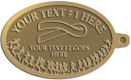 Ace Recognition Gold KeyTag - with your text and logo - attitude, awareness, breast, cancer, celebrate, celebration, challenge, charity, courageous, health, hope, marathon, medical, miracle, pink, race, recover, recovery, ribbon, run, support, survival, survive, survivor, symbol, symbolic, therapy