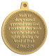 Ace Recognition Gold KeyTag, Medal, Pendant - with your text and logo - Christian Designs - Study to shew thyself approved unto God, a workman that needeth not to be ashamed, rightly dividing the word of truth.  2 Timothy 2:15  religious, metal