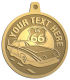 Ace Recognition Gold KeyTag, Medal, Pendant - with your text and logo - Car Designs - classic car - roadster - vintage cars - sports car - your text, transportation, metal