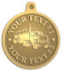 Ace Recognition Gold KeyTag, Medal, Pendant - with your text and logo - tanker trucks, tank trucks, truck tankers, truck tanks, carriers, haulers, transportationvvvvvv