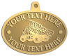 Ace Recognition Gold KeyTag, Medal, Pendant - with your text and logo - dump trucks, standard dump trucks, trucks, construction vehicles, dumper, tip trucks, tipper lorry, tipper trucks, tippers, tipper lorries, transportation