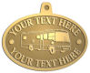 Ace Recognition Gold KeyTag, Medal, Pendant - with your text and logo - RV, RVs, Recreational Vehicles, Motorhomes, motors, motor-homes, motorhomes, recreation, recreational, retire, retirement, tours, trailers, transportation, travel, travelers, trips, trucks, vacations, vans, vehicles, voyages, wheels