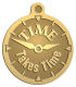 Ace Recognition Gold KeyTag, Medal, Pendant - with your text and logo - recovery, recovery celebration, recovery milestones, motivational