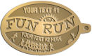 Ace Recognition Gold KeyTag - with your text and logo - athletes, athletics, cause, charity, city, compete, competition, exercise,  health, healthy, international, jog, life, lifestyle, people, races, sports, fun run