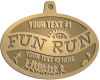 Ace Recognition Gold KeyTag, Medal, Pendant - with your text and logo - athletes, athletics, cause, charity, city, compete, competition, exercise,  health, healthy, international, jog, life, lifestyle, people, races, sports, fun run