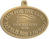 Ace Recognition Gold KeyTag, Medal, Pendant - with your text and logo - attitude, awareness, breast, cancer, celebrate, celebration, challenge, charity, courageous, health, hope, marathon, medical, miracle, pink, race, recover, recovery, ribbon, run, support, survival, survive, survivor, symbol, symbolic, therapy