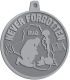 Ace Recognition Pewter KeyTag, Medal, Pendant - with your text and logo - Military - Iraq - Fallen Solider Memorial - US Flag and ribbon - Never Forgotten