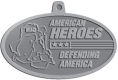 Ace Recognition Pewter KeyTag, Medal, Pendant - with your text and logo - Military - Fallen Soldier Memorial - Iraq - American Flag - American Heroes - Defending America, metal, navy