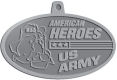 Ace Recognition Pewter KeyTag, Medal, Pendant - with your text and logo - Military - Fallen Soldier Memorial - Iraq - American Flag - American Heroes - US Army, metal, navy