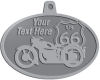Ace Recognition Pewter KeyTag, Medal, Pendant - with your text and logo - Motorcycle Designs - US 66 - route 66 -   chopper, motorcycle - your text, motorcycles, motor bikes, racing, motor, motorsports, motor-sports, transportation, metal