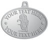 Ace Recognition Pewter KeyTag, Medal, Pendant - with your text and logo - Sports, mascots, sports, animals, tigers, teams, high school, college, university