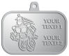 Ace Recognition Pewter KeyTag, Medal, Pendant - with your text and logo - Aliens, ufos, robots