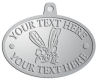 Ace Recognition Pewter KeyTag, Medal, Pendant - with your text and logo - Sports, mascots, insects, flies, bees, wasps, high school, college, university