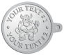 Ace Recognition Pewter KeyTag - with your text and logo - Sports, mascots, vikings, norsemen, high school, college, university