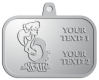 Ace Recognition Pewter KeyTag, Medal, Pendant - with your text and logo - Sports, mascots, birds, buzzards, high school, college, university